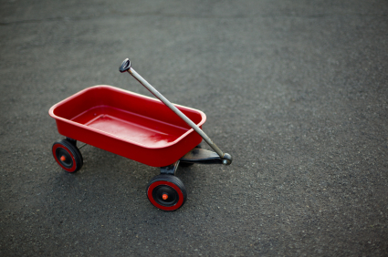 red wagon small